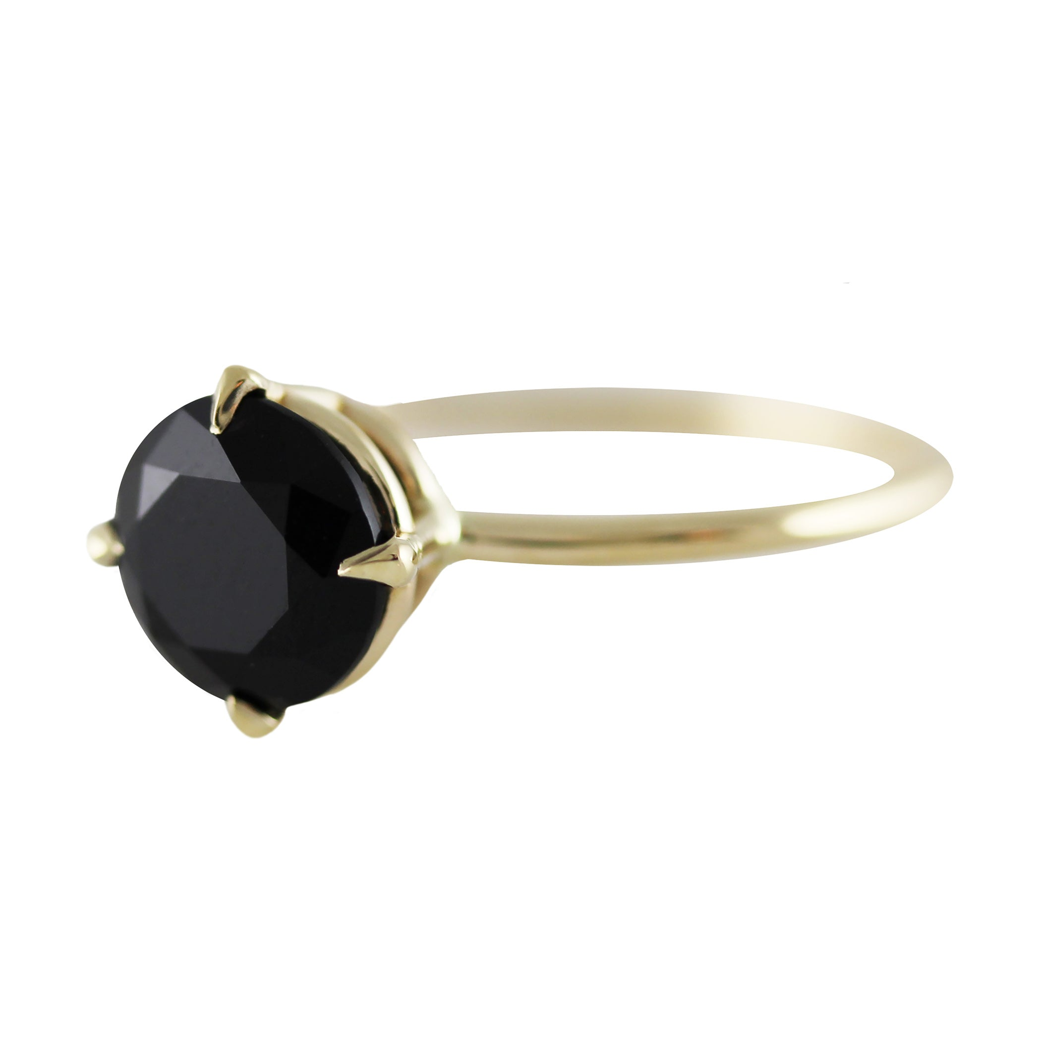 RONDE ONYX RING