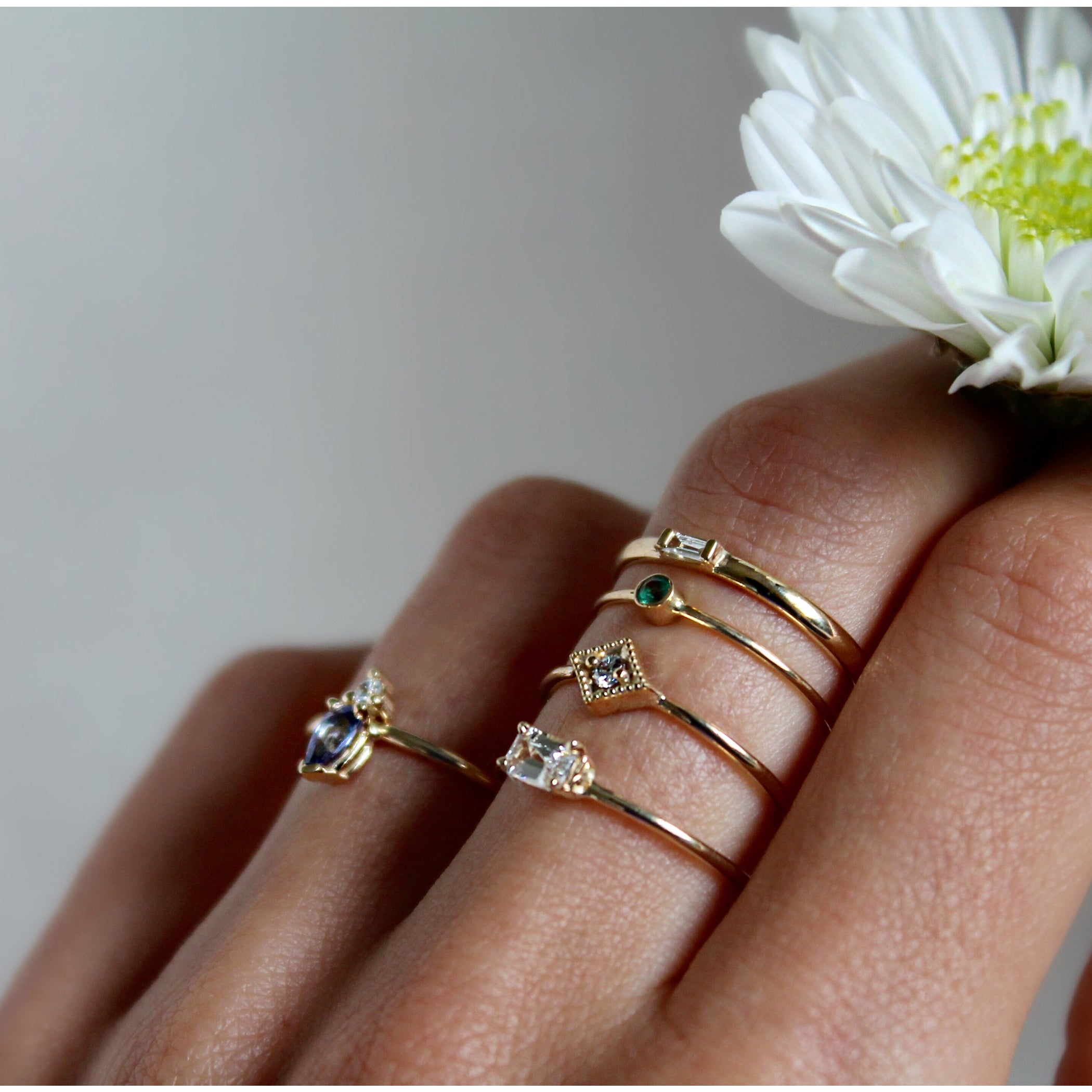 baguette stacking products ring rings diamond atheria chloe bezel wedding by llc jewelry