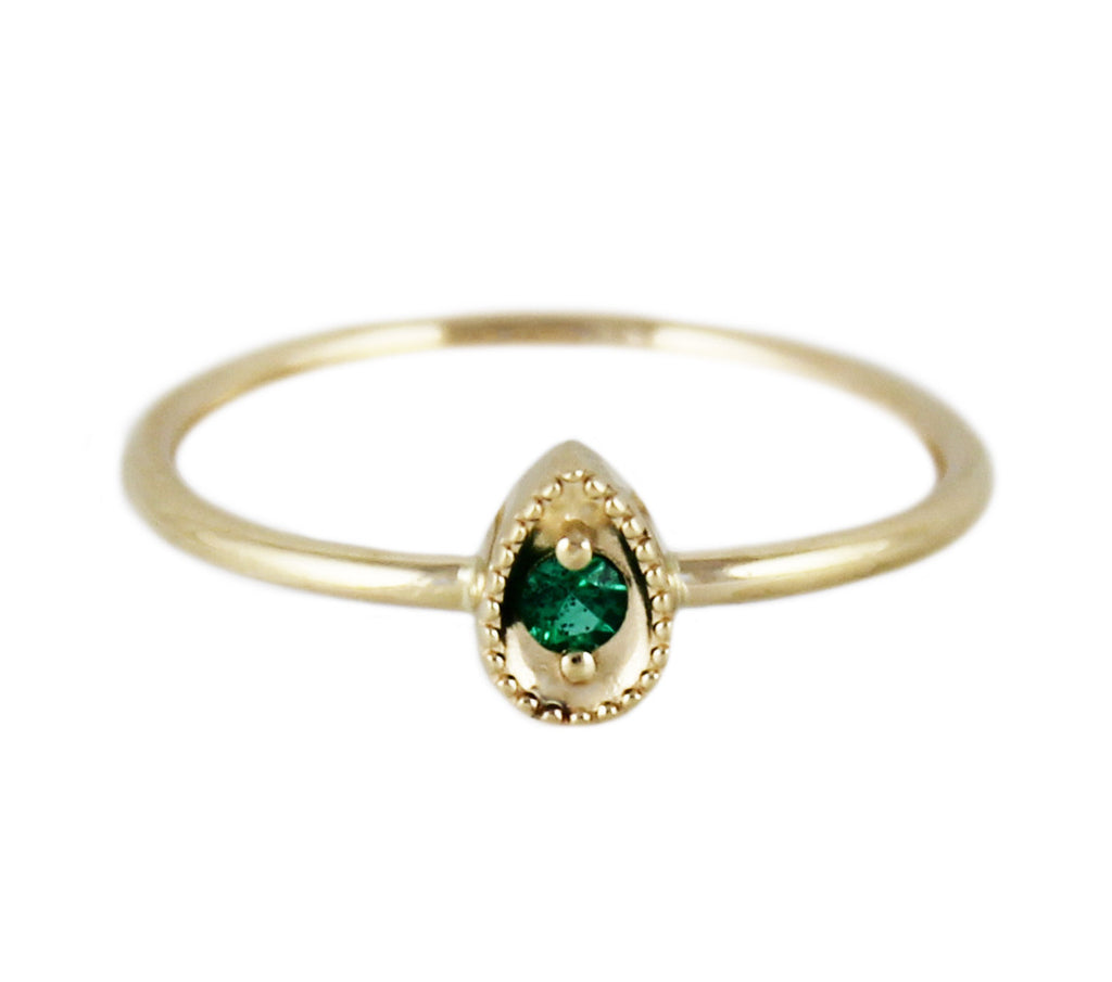 SOPHIE EMERALD RING