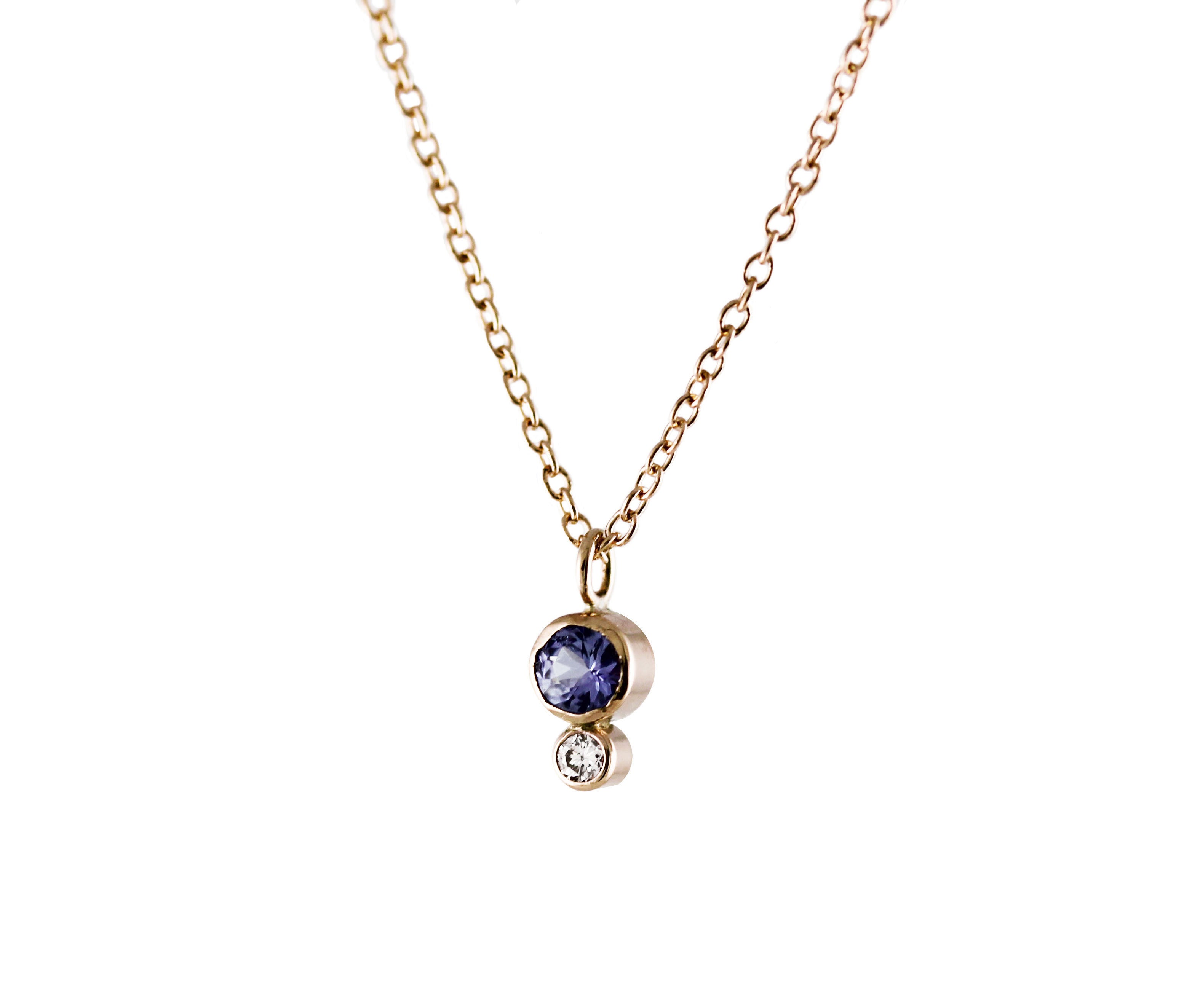 pin necklace tanzanite jewellery and diamond pinterest