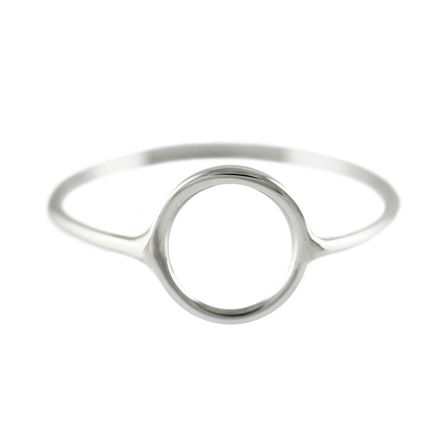 THE PERFECT SILVER CIRCLE RING