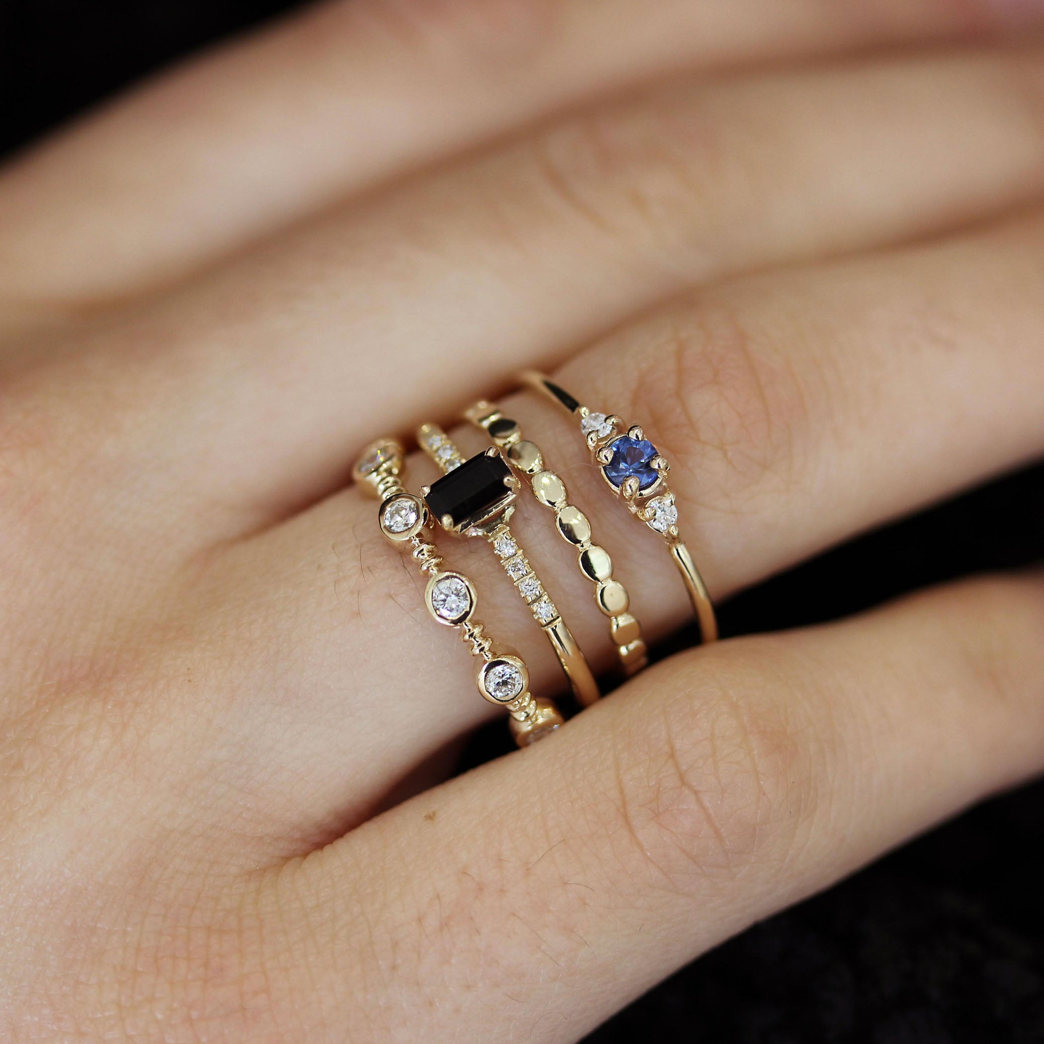 category of page rings pave the archives adiamor in band fashion style and blog wedding twisted rose halo gold