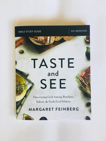 Taste and See Book & Study Guide Combination--SHIPS JANUARY 5, 2019