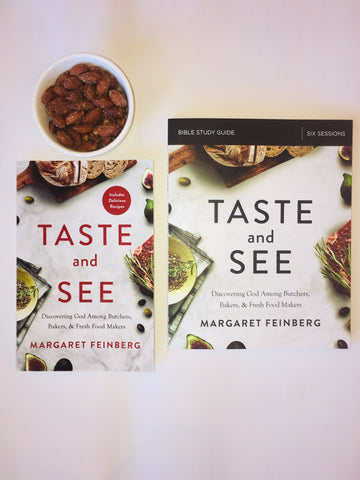 4-Pack Taste and See Books + FREE Tea Towels