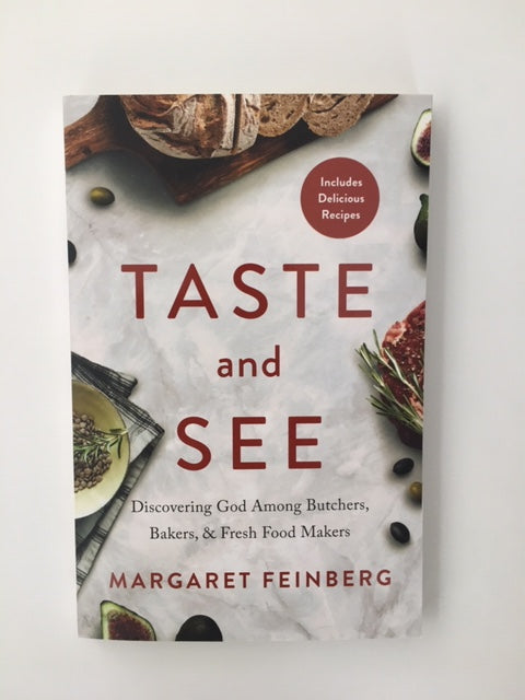 Taste and See Book by Margaret Feinberg