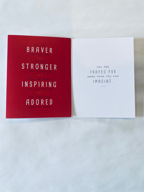You Are Braver Than You Think Greeting Cards