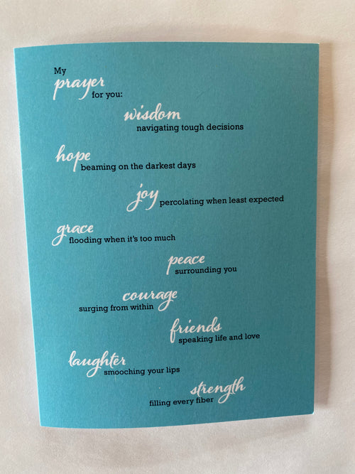 My Prayer For You Greeting Cards