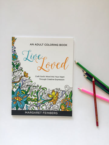 Coloring Book 3-Pack: Live Loved, Live Free, Live Fearless
