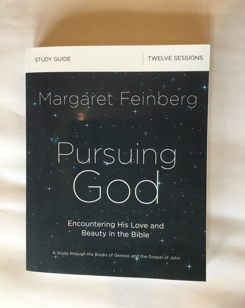 Pursuing God: Encountering His Love and Beauty in the Bible Workbook