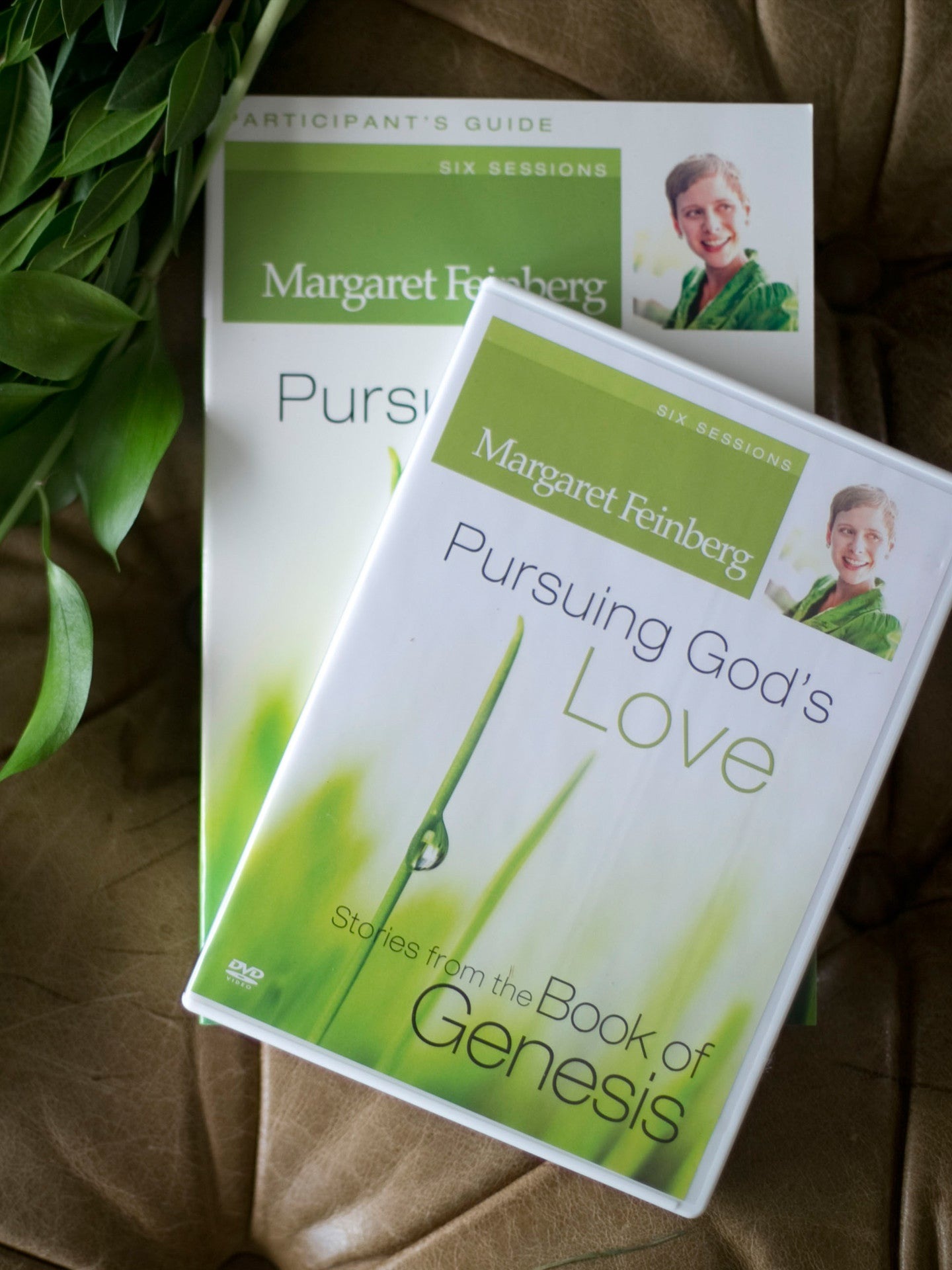 Pursuing God's Love: Stories from the Book of Genesis Workbook with DVD