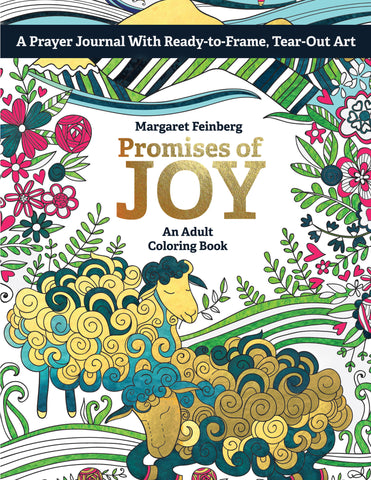 Promises of Joy: An Adult Coloring Book
