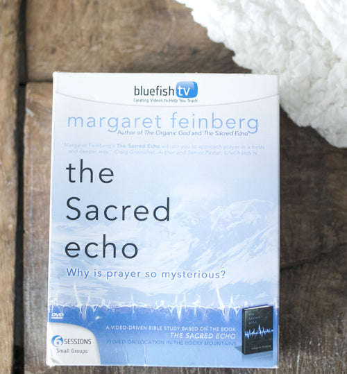 The Sacred Echo 6-Session DVD Bible Study Kit