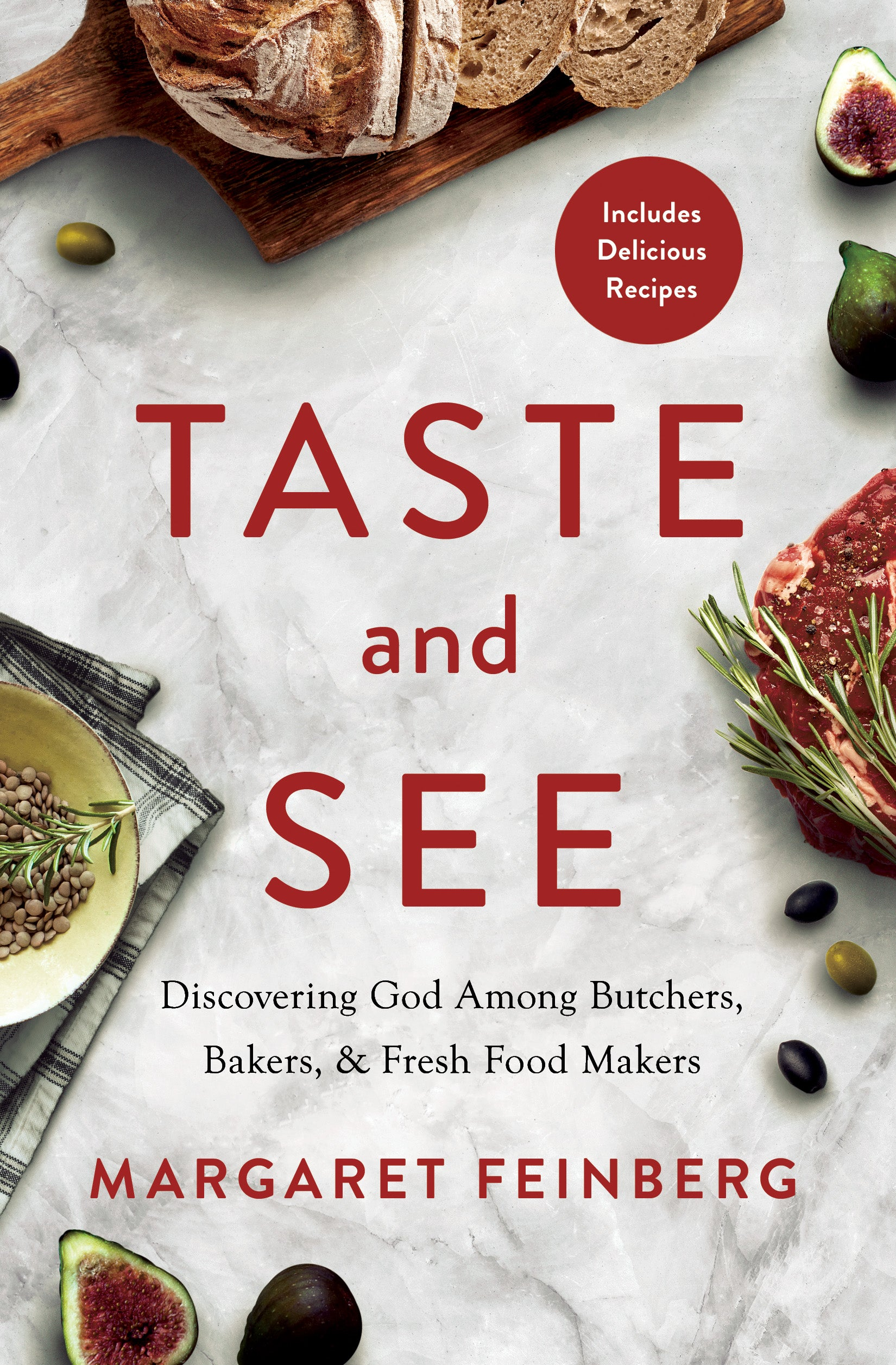 Taste and See Book & Study Guide Combination
