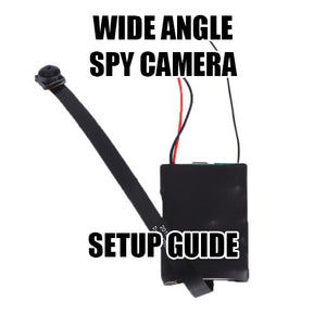 Setup Guide for Remote DIY Camera Module