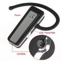 Bluetooth Headset Spy Camera