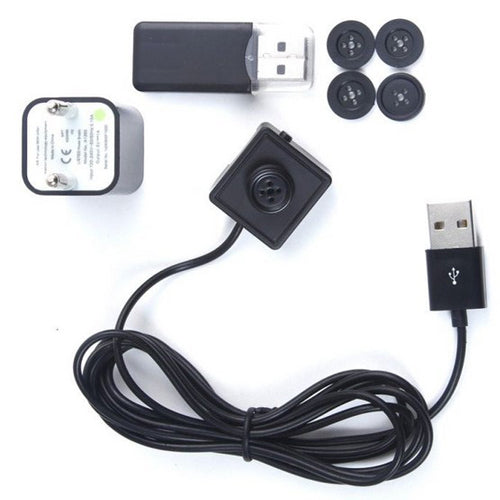 Spy Camera Button - Spy Shop SA