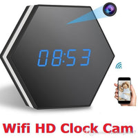 Wireless Spy Clock with Night Vision - M3 - Spy Shop SA