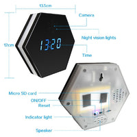 Wireless Camera Clock with Night Vision