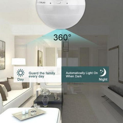Light Bulb Hidden Camera with WiFi