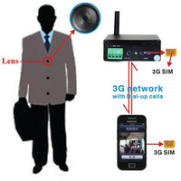 3G Button Camera - Spy Shop SA