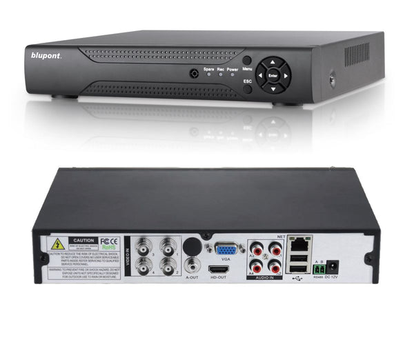 4 Channel AHD DVR