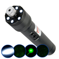 Green Laser Pointer + LED Torch Light - Spy Shop SA