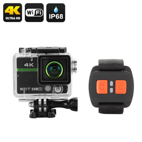 Sports Action Camera with Remote - Spy Shop SA