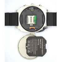 Spy Watch Camera with Night Vision - Rubber Strap