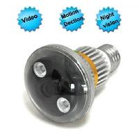 Bulb Camera with Motion Detection - Spy Shop SA