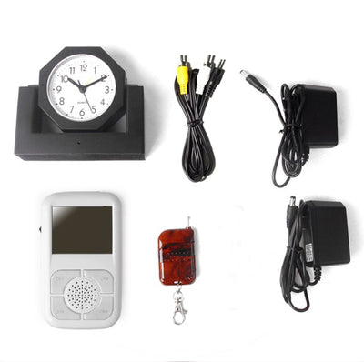 Desktop Clock Camera with Wireless Receiver