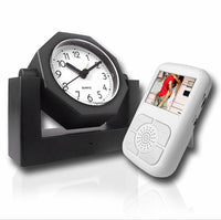 Spy Clock with Receiver - Spy Shop SA