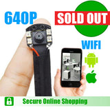 Hidden Camera for Smartphones - Night Vision - Spy Shop SA