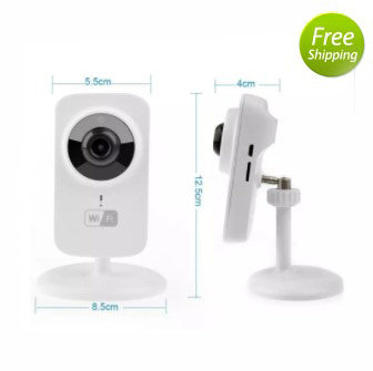Indoor Nanny Cam for Smartphones - SQ - Spy Shop SA