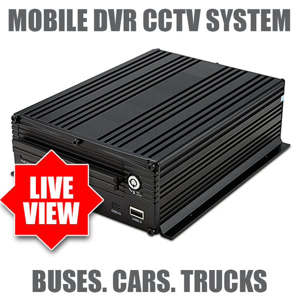 Mobile DVR 4 Channel - Live Viewing - Spy Shop SA
