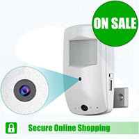 PIR Spy Camera with Night Vision - Spy Shop SA