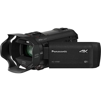 Panasonic HD 4K Camcorder with Wi-Fi - Spy Shop SA