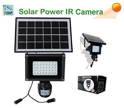 Solar Powered CCTV Camera - Spy Shop SA