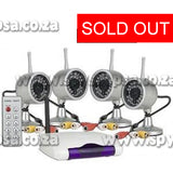 Wireless CCTV Security - Spy Shop SA