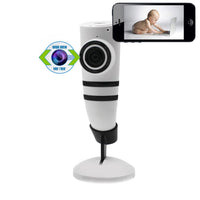Viking Horn Indoor Nanny Cam with Fisheye Lens