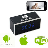 Black Box Spy Clock with Live Viewing - Spy Shop SA