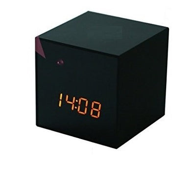 Bluetooth Speaker Hidden Camera Clock