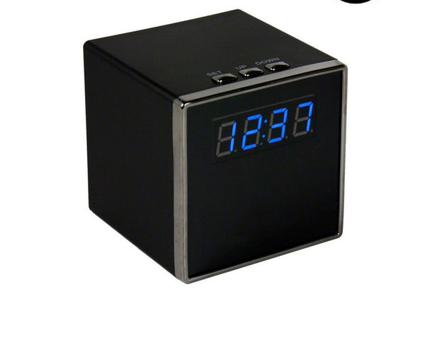 WiFi Hidden Camera Cube Clock