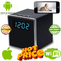 Cube Spy Camera Clock for Smartphones - Spy Shop SA