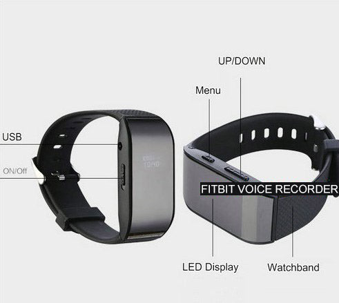 Voice Recorder Fitbit