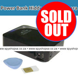 GSM Power Bank Spy Camera with MMS and Audio - Spy Shop SA