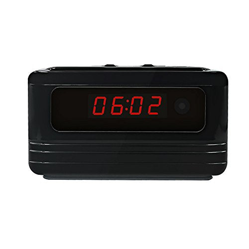 Affordable Hidden Camera Clock with Motion Detection