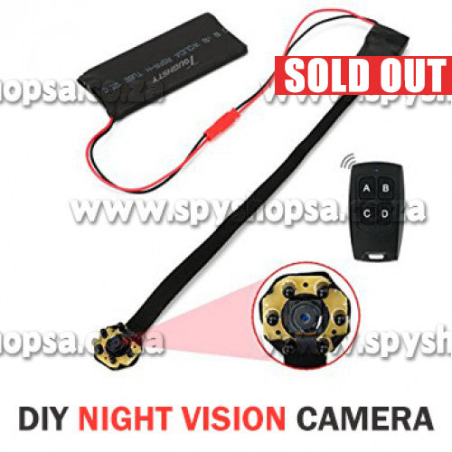 Spy Camera Module with Night Vision - Spy Shop SA