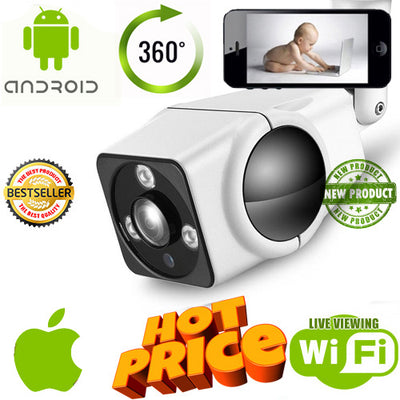 360 Degree Outdoor Camera - Spy Shop SA