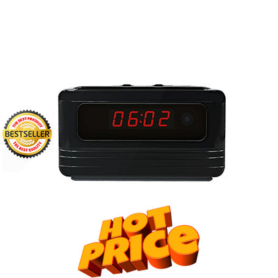 Affordable Spy Clock with Motion Detection - Spy Shop SA