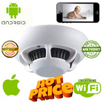 Smoke Detector Spy Camera for Smartphones - Spy Shop SA